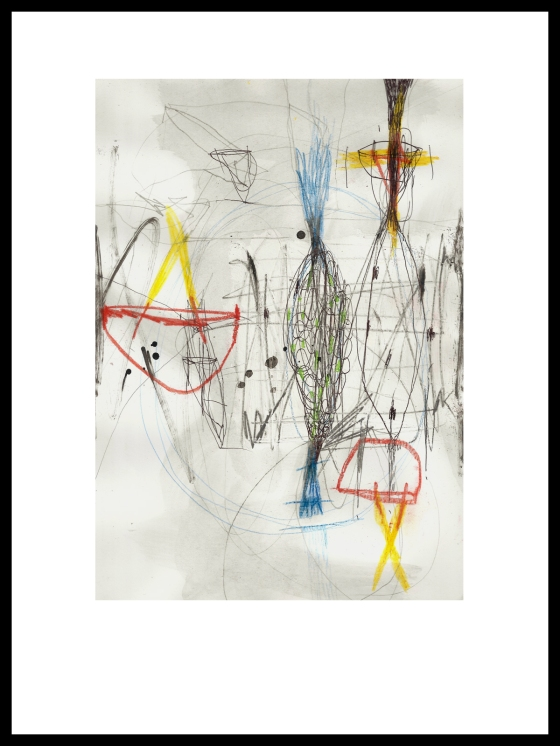 Pál Csaba, Rajz, Drawing, 02, A/4