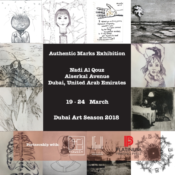 Csaba Pál, Authentic Marks, Dubai, 2018