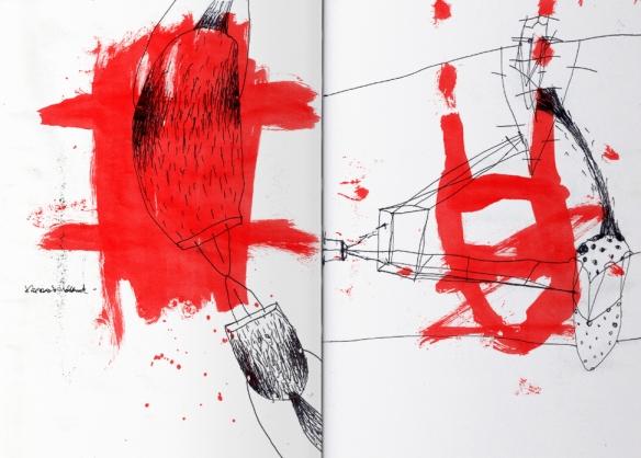 Csaba Pál, Lonely Diary, Zine, A/5, pieces, A//4 digital print, 2018