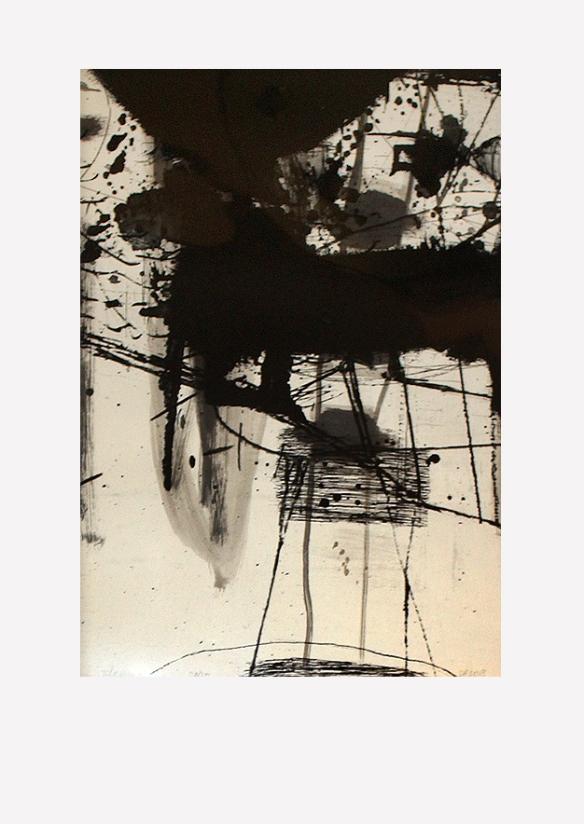 Pál Csaba, Dilemma, vegyes technika, síkfilm, papír, 70x50 cm