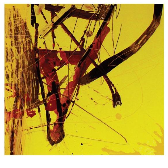 Csaba Pál, Inner limintation 03, digital print, 10x10/19x19 cm,  Kazanlak, Miniprint, 2018