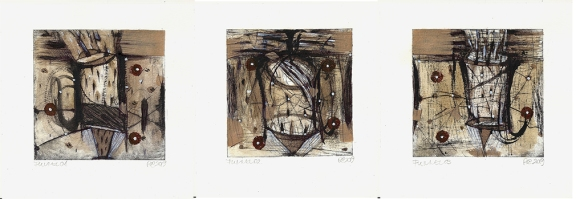 Csaba Pál, Funmel 010203, 10x10 cm, mixed, 2019